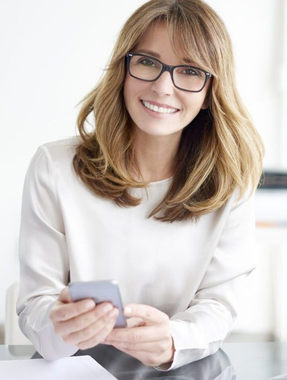 Executive professional woman